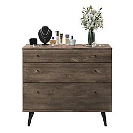 Midtown Concept™ Mid-Century 3-Drawer Dresser