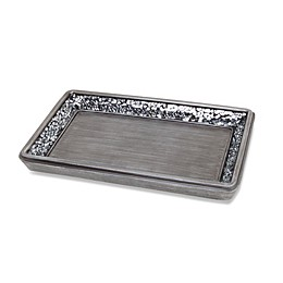 India Ink Omni Guest Towel Holder in Pewter