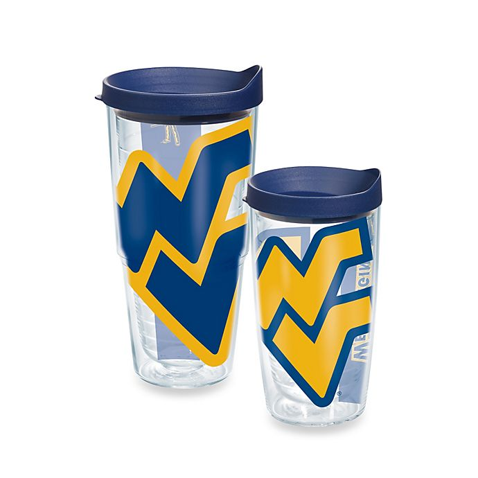 130a7735ab7 Tervis® West Virginia University Mountaineers Wrap Tumbler with Blue Lid