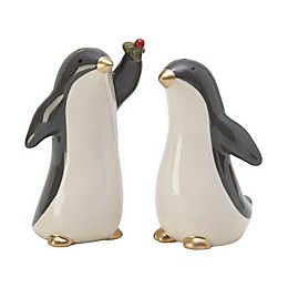 Fitz and Floyd® Mistletoe Merriment 2-Piece Salt & Pepper Shakers