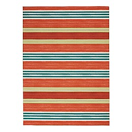 Waverly® Sun & Shade Striped Indoor/Outdoor Area Rug