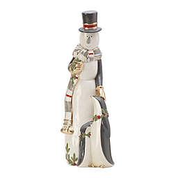 Fitz and Floyd® Mistletoe Merriment Snowman Figurine