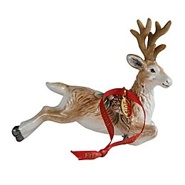 Fitz and Floyd® Forest Frost Deer Ornament Dated 2019
