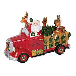 Fitz and Floyd® Forest Frost Santa's Tree Farm Musical Figurine