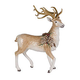 Fitz and Floyd® Forest Frost Standing Deer Figurine