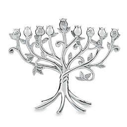 Lenox® Judaica Blessings Metal Menorah