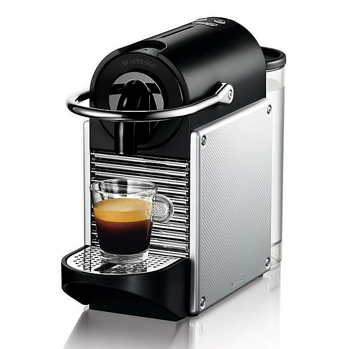 Alternate image 1 for Nespresso® Pixie Coffee and Espresso Machine by De'Longhi®