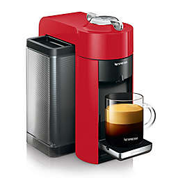 Nespresso Vertuo by De'Longhi Coffee and Espresso Maker in Shiny Red