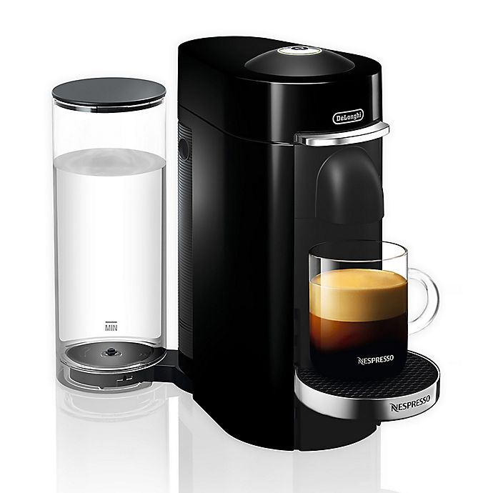 Alternate image 1 for Nespresso® by De'Longhi VertuoPlus Deluxe Coffee and Espresso Maker in Black