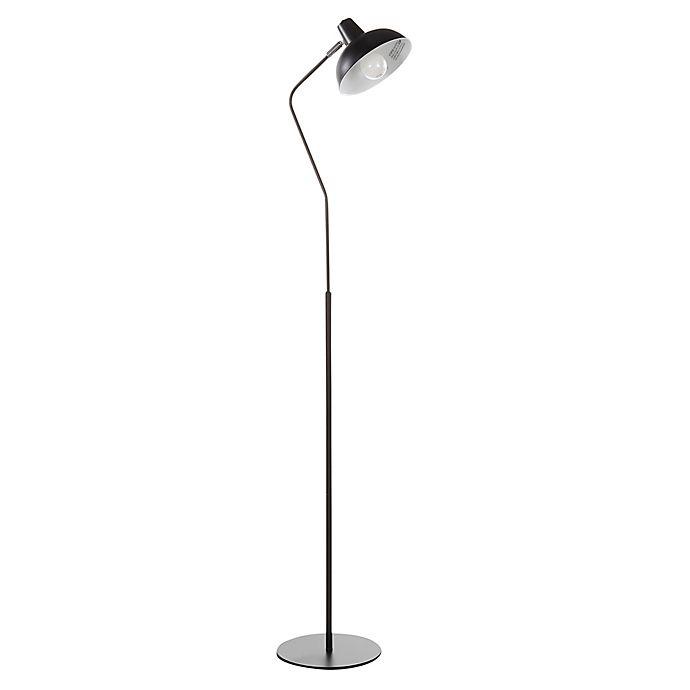 Alternate image 1 for LumiSource Darby Floor Lamp in Black
