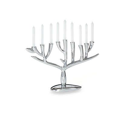 Nambé Judaica Tree of Life Menorah