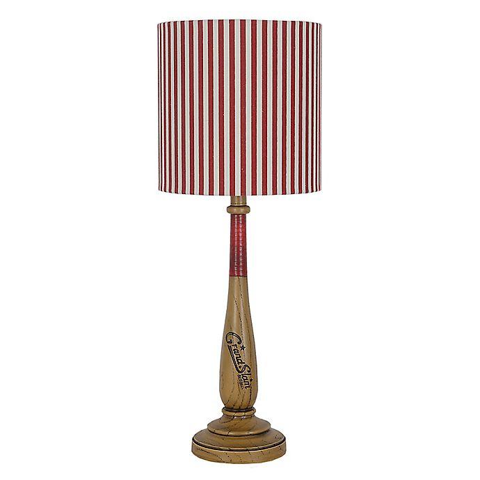 Alternate image 1 for Bomber Table Lamp in Tan