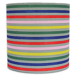 Theo 8-Inch Multicolor Stripe Lamp Shade