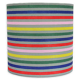Theo 8-Inch Multicolor Stripe Lamp Shade