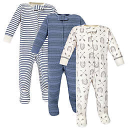Yoga Sprout® Preemie 3-Pack Hedgehog Footies
