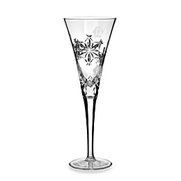 Waterford® Crystal Snowflake Wishes 2013 3rd Edition Goodwill Kerry Flute in Clear
