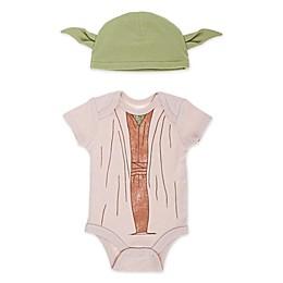 Lucas™ 2-Piece Yoda Bodysuit and Hat Set