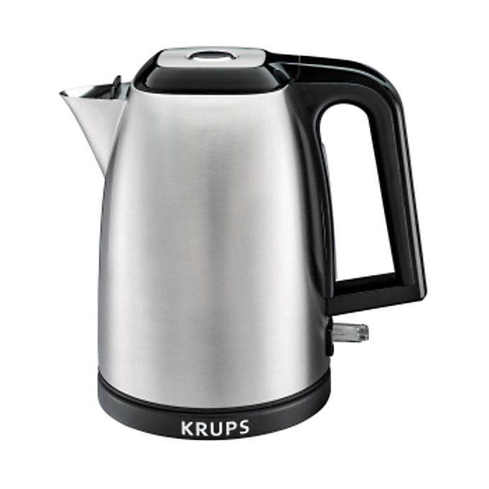 Alternate image 1 for Krups® 1.7-Liter Savoy Electric Kettle in Stainless Steel