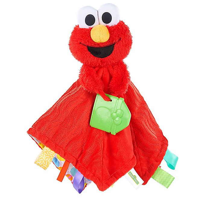 Alternate image 1 for Sesame Street® Snuggles with Elmo Baby's First Soothing Blanket