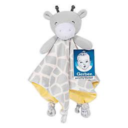 Gerber® Giraffe Plush Velboa Security Blanket in Grey