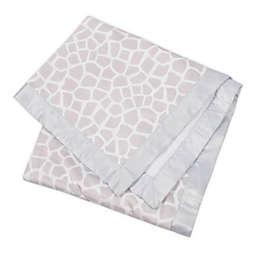 Gerber® Giraffe Plush Blanket in Grey/White