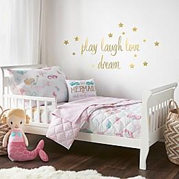 Levtex Baby Mermaid Toddler Bedding Set in Pink