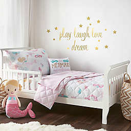 Levtex Baby Mermaid Toddler Bedding Set in Pink