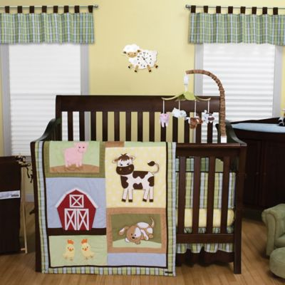 Trend Lab 174 Baby Barnyard Bedding Collection Buybuy Baby
