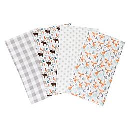 Trend Lab® 4-Pack Scandi Cocoa Burp Cloth Set