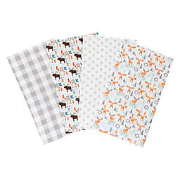 Trend Lab® 4-Pack Scandi Cocoa Burp Cloth Set
