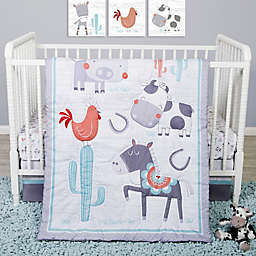 Sammy & Lou 4-Piece Farmstead Friends Crib Bedding Set
