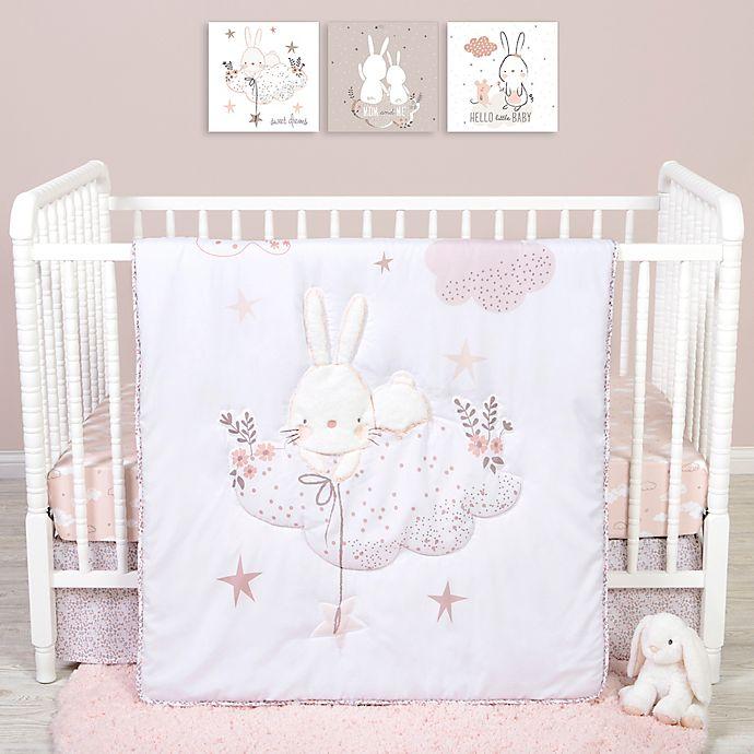 Alternate image 1 for Sammy & Lou 4-Piece Cottontail Cloud Crib Bedding Set