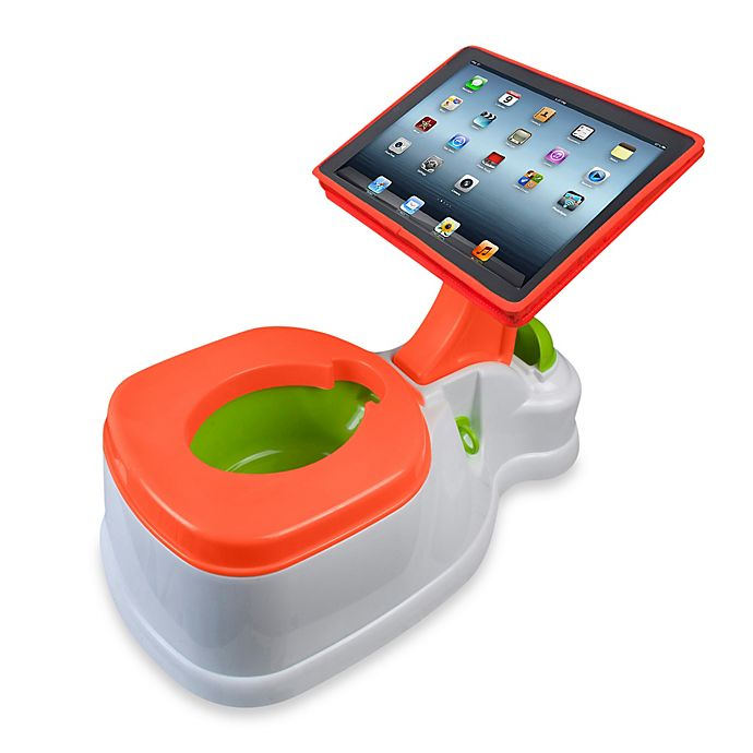 Alternate image 1 for CTA Digital 2-in-1 iPotty with Activity Seat for iPad®