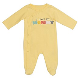Baby Starters® Love Mommy Footie in Yellow