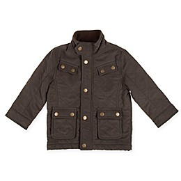 Urban Republic Safari Style Microfiber Jacket in Olive