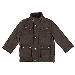 Urban Republic Safari Style Microfiber Jacket in Olive