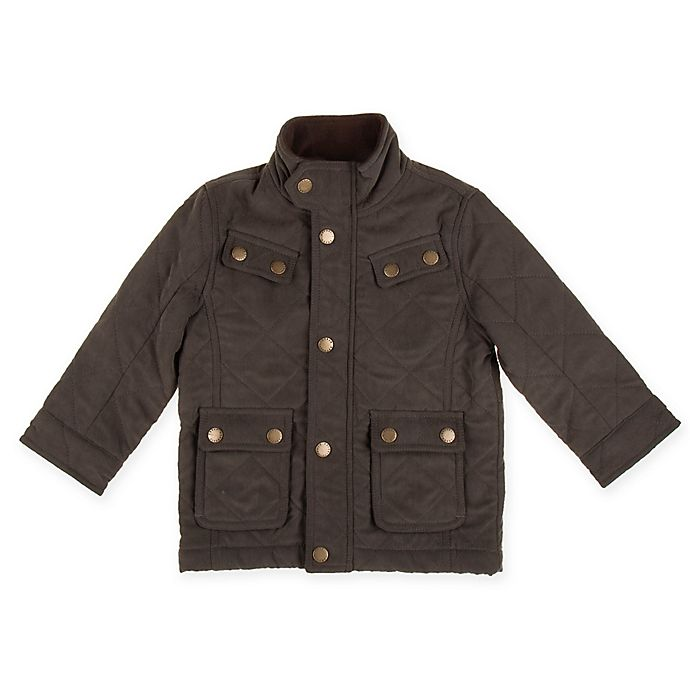 Alternate image 1 for Urban Republic Safari Style Microfiber Jacket in Olive