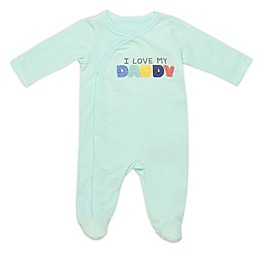 Baby Starters® Love Daddy Footie in Green