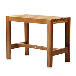 ARB Teak & Specialties Fiji 24-Inch Teak Wood Shower Bench