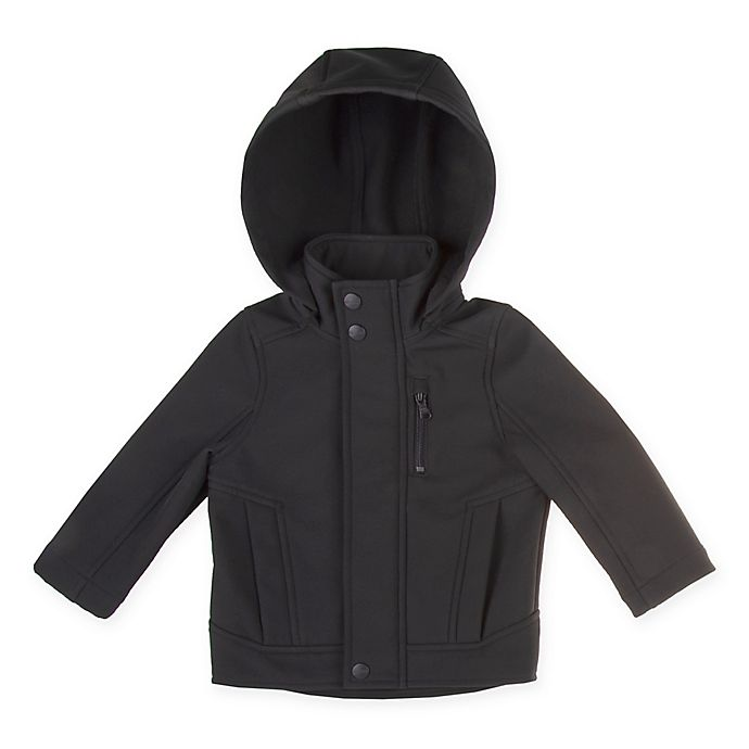 Alternate image 1 for Urban Republic Soft Shell Toddler Jacket in Black