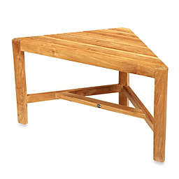 ARB Teak & Specialties Fiji Teak Corner Shower Bench