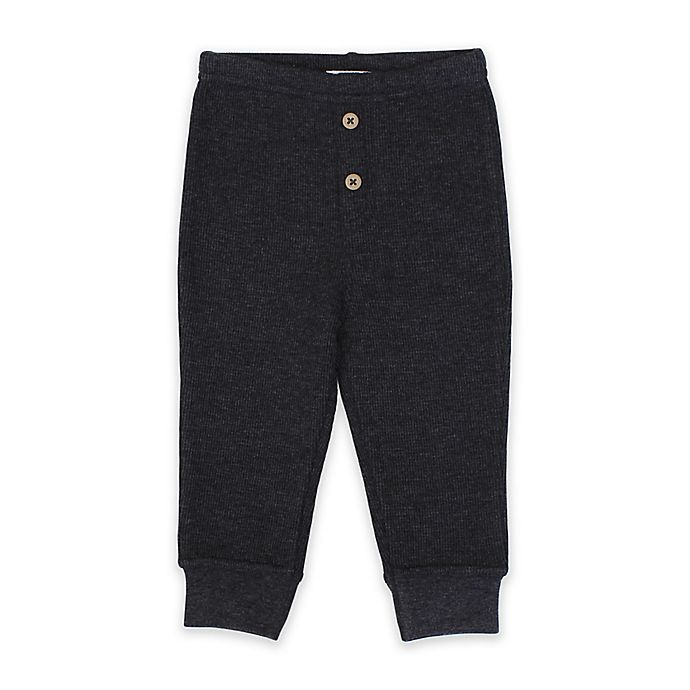 Alternate image 1 for Planet Cotton® Thermal Pant in Charcoal
