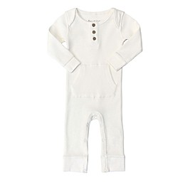 Planet Cotton® Cotton Thermal Coverall in Ivory