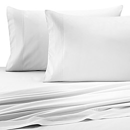 Barbara Barry® Perfect Pleat Flat Sheet in White