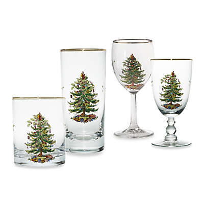 Spode® Christmas Tree Barware Collection