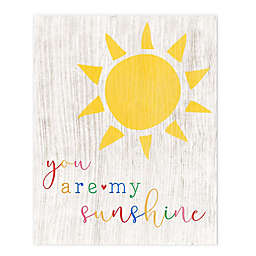 """Courtside Market """"You Are My Sunshine"""" 30-Inch x 40-Inch Canvas Wall Art"""