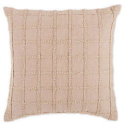 Bee & Willow™ Home Harvest Floral Geometric Square Throw Pillow in Sand