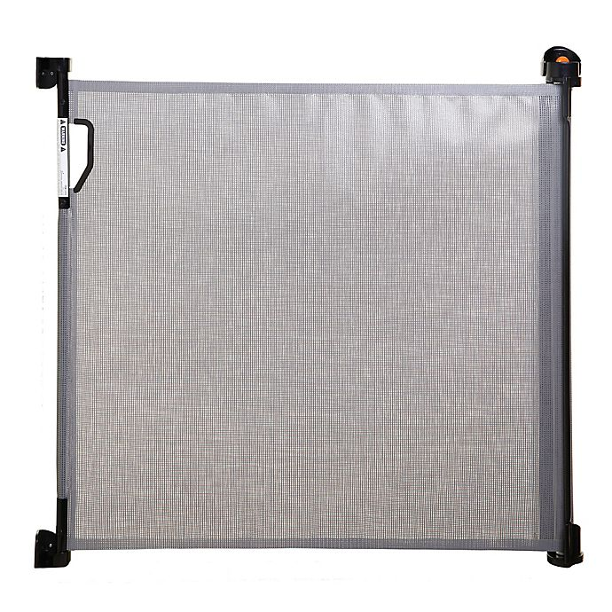 Alternate image 1 for Dreambaby® Indoor/Outdoor Retractable Gate in Grey