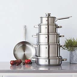 Zwilling® J.A. Henckels Joy 11-Piece Stainless Steel Cookware Set