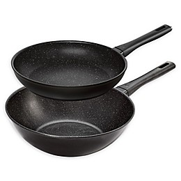Zwilling® J.A. Henckels Marquina Nonstick 2-Piece Aluminum Wok and Fry Pan Set